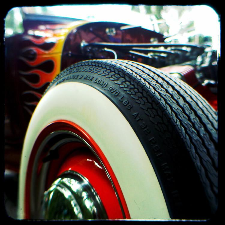 April 6: Ford Motor Co. first offers white sidewall tires as an option on this date in 1934