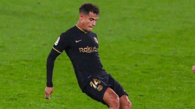 Philippe Coutinho Absen Saat Barcelona Hadapi Juventus