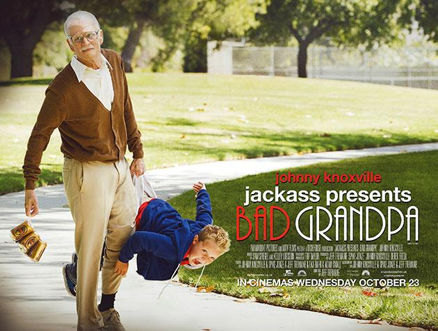 Competition: Win tickets to our special Jackass Presents: Bad Grandpa screening and Q&A with Johnny Knoxville