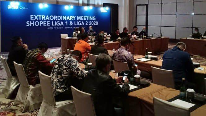 Masih Ada Peluang Liga 1 2020 Dihentikan Total