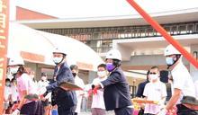 影/鹿江國際中小學校舍新建工程動土 將於111年6月竣工