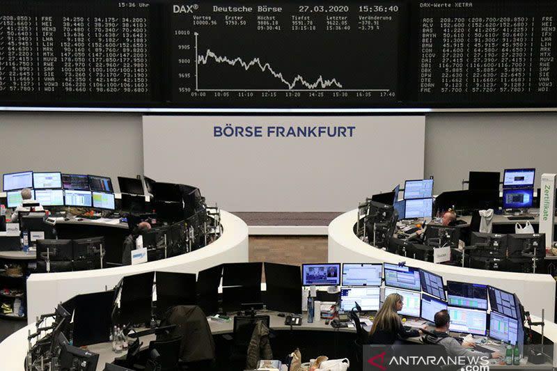 Saham Jerman kembali jatuh, indeks DAX 30 ditutup merosot 0,93 persen