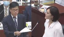 快新聞/李眉蓁質詢陳其邁 一度陷入混戰