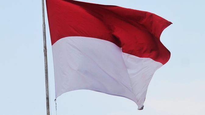 Ilustrasi bendera Indonesia. (Sumber: Pixabay)