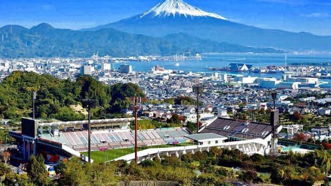Stadion terindah di Asia, IAI Nihondira Stadium (Jepang). (Bola.com/Dok. AFC)