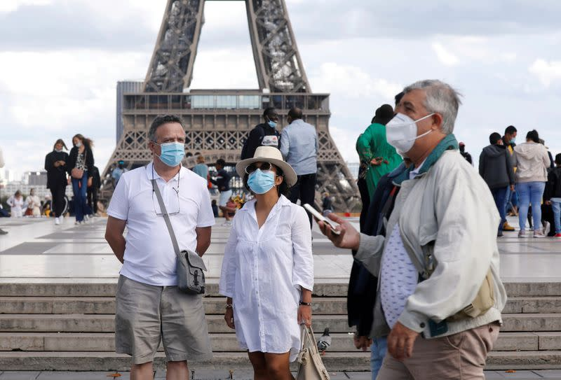 France again registers over 7,000 new COVID-19 infections, ICU numbers spike