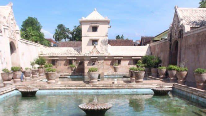 Taman Sari, Istana Air untuk Keluarga Raja