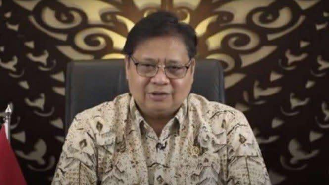 Menko Airlangga: Pemerintah Tahu Dalang Demo Omnibus Law