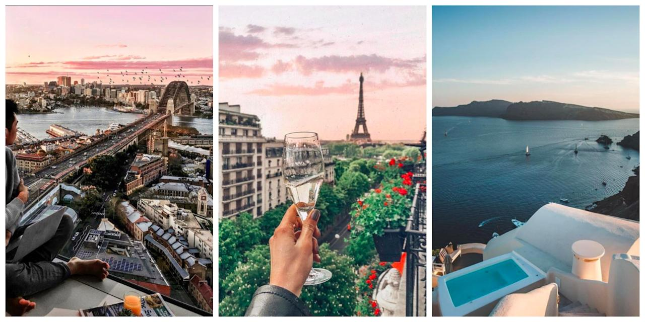 <p>From Sydney to Greece, these resorts showcase some of the world's best views. </p>