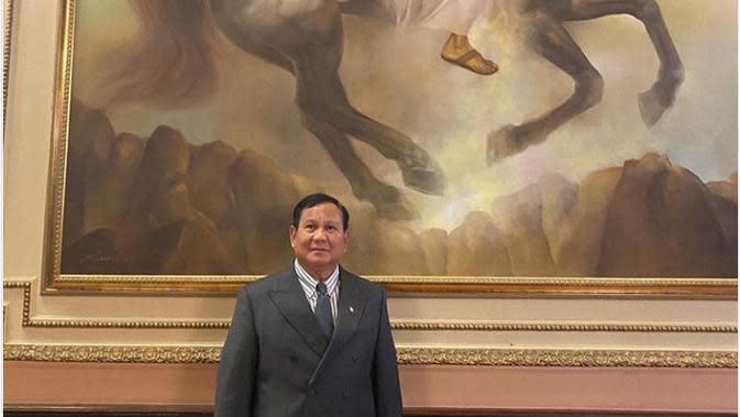Menteri Pertahanan Prabowo Subianto di AS. Dok: Twitter @Prabowo