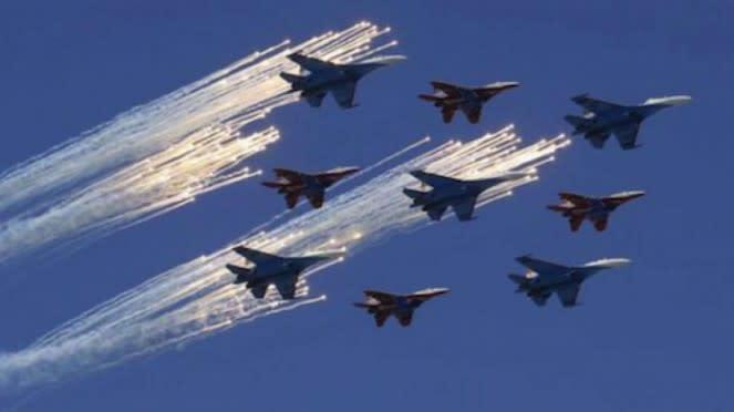 VIVA Militer: Pesawat Jet Rusia