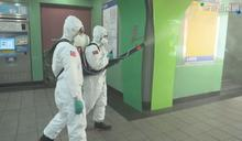本土增286例 化學兵頂高溫出動清消