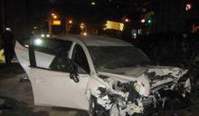 2男爛醉駕車自撞紐澤西護欄 駕駛命危坐旁邊的當場掛掉
