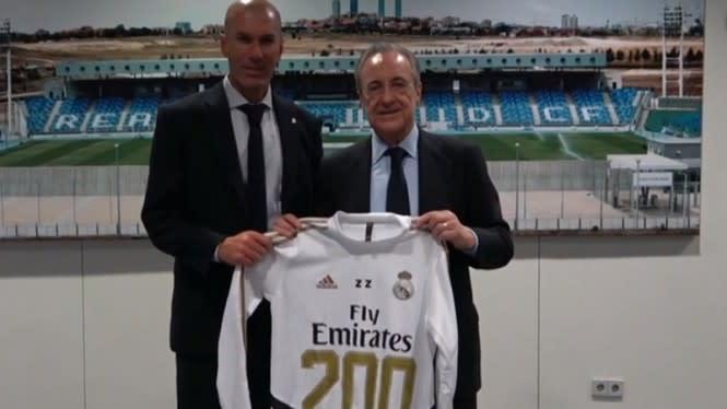 Zinedine Zidane Masuk Jajaran Atas dalam Sejarah Pelatih Real Madrid