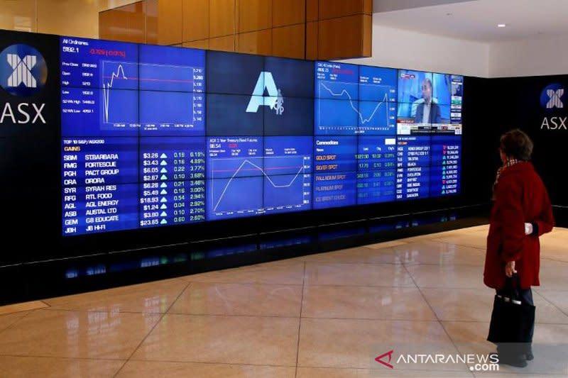 Pasar saham Australia dibuka cenderung datar