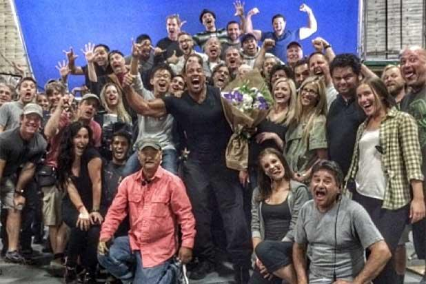 Dwayne 'The Rock' Johnson Wraps 'Fast & Furious 7' (Photo)