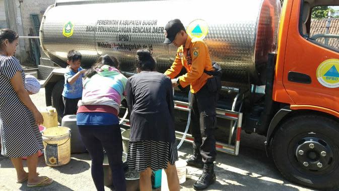 Kekeringan, Krisis Air Bersih di Kabupaten Bogor Meluas