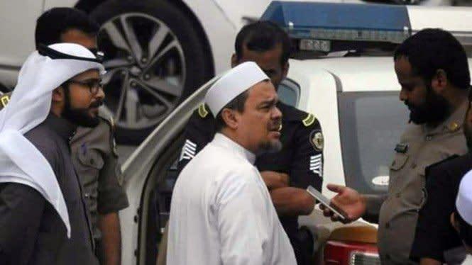 Status Habib Rizieq Masih Overstayer, Mesti Bayar Denda Ratusan Juta