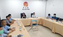 海委會副主委莊慶達訪馬祖 出席協調會 (圖)