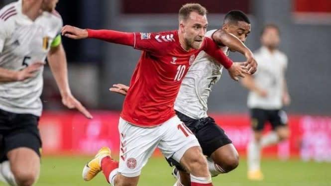 Inggris vs Denmark, Eriksen Kejar Hasil Bagus di Caps ke-100
