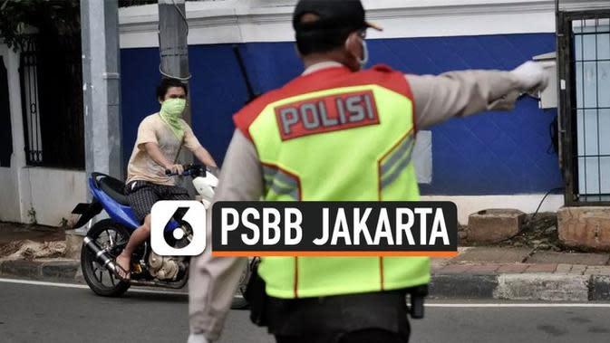 VIDEO: Pelanggar PSBB Jakarta Bakal Pakai Rompi Oranye Mirip Tersangka KPK