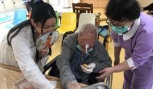臺中榮總埔里分院陪伴長輩 親手製作三低冰皮月餅
