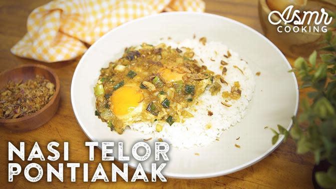 Resep Nasi Telur Pontianak, Menu Praktis untuk Sahur