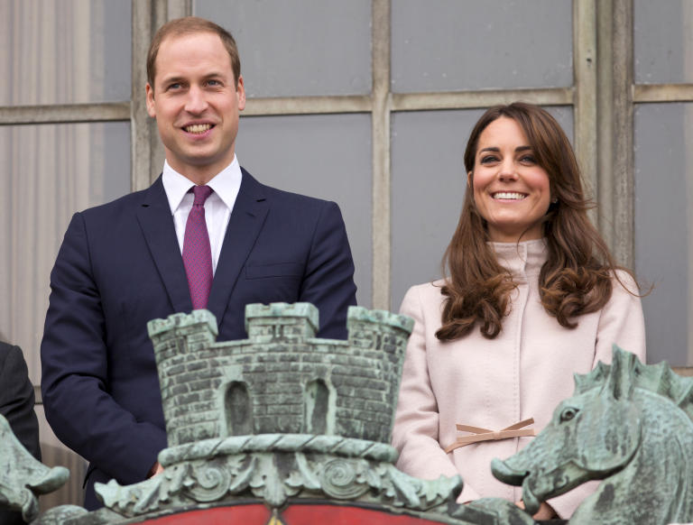 Prince William and wife Kate Middleton