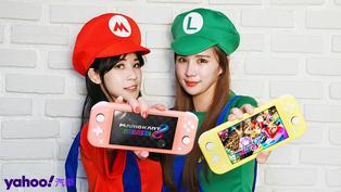 宅在家中也能橫移滑走!《馬力歐賽車8豪華版》& Nintendo Switch Lite珊瑚紅玩樂開箱!