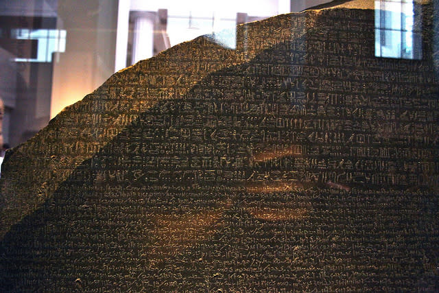 July 19: The Rosetta Stone is discovered in Egypt in 1799