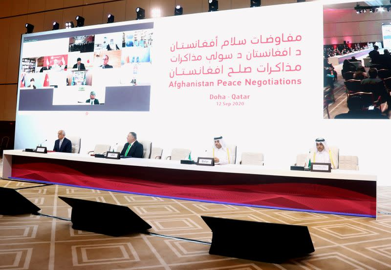 Afghan peace talks open with calls for ceasefire, women's rights