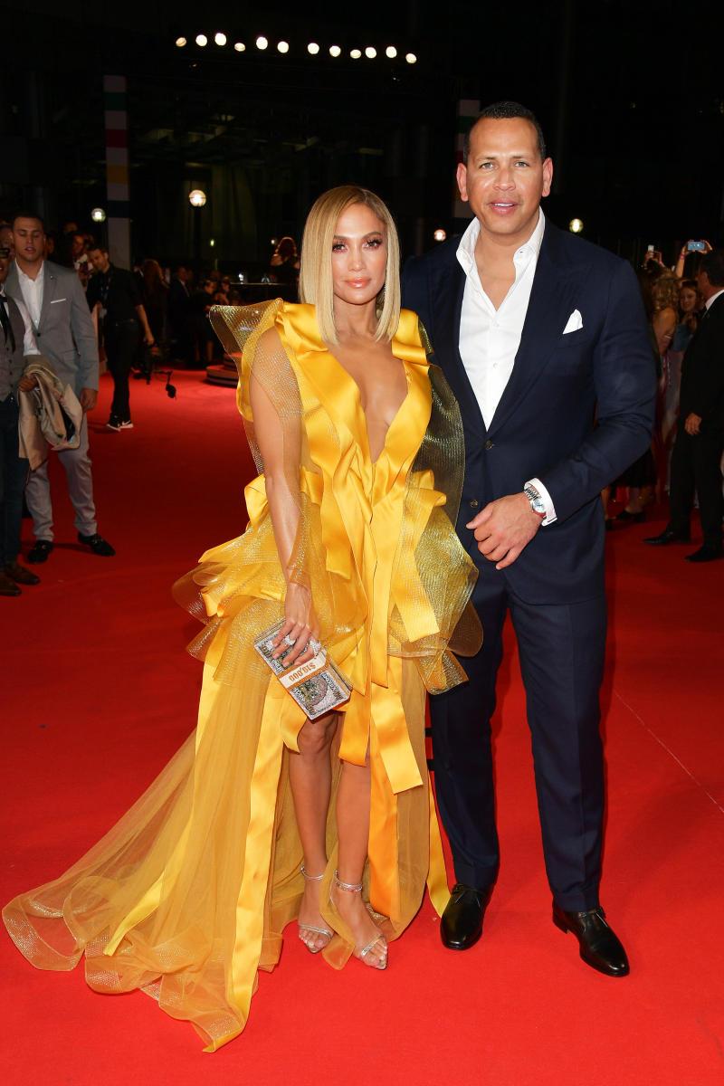 Jennifer Lopex and fiancé Alex Rodriguez