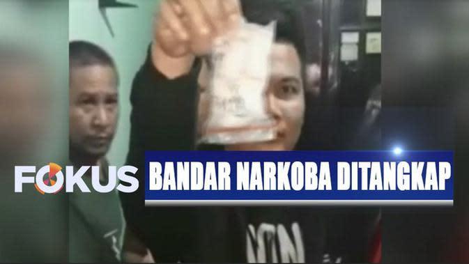 Jual Narkoba Dalam Bungkus Kuaci, Polisi Tangkap Bandar di Bekasi