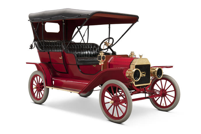 October 1: Ford introduced the Model T on this date in 1908