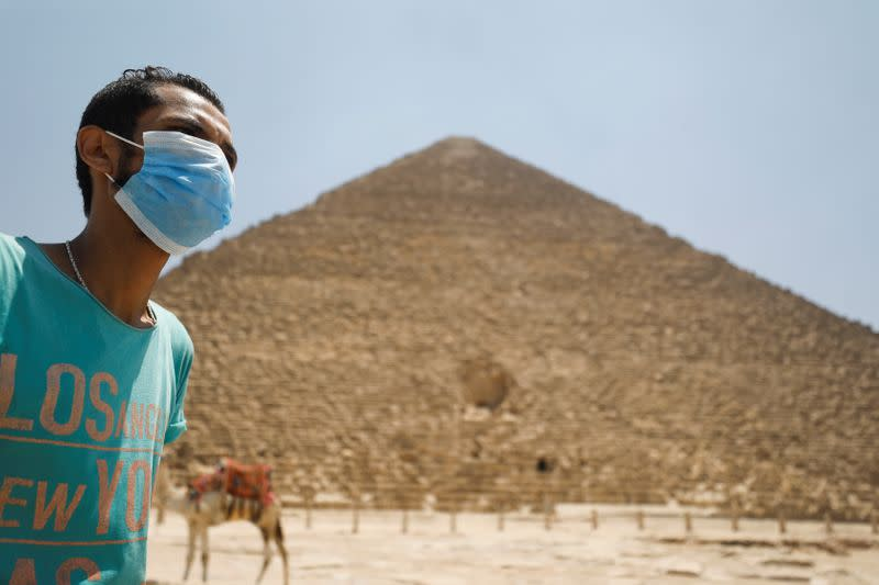 Egypt reopens airports and welcomes tourists to pyramids after COVID closure