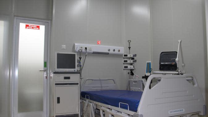 RSAM memiliki fasilitas Intensive Care Unit (ICU) khusus dan peralatan kesehatan penunjang penanganan Covid-19.