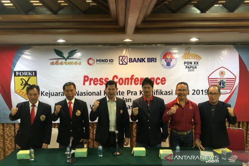 Timnas karate siap tanding SEA Games usai Kejurnas Pra-PON