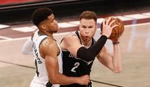 NBA》哈登傷退籃網兩巨頭54分 字母哥34分公鹿首戰崩盤