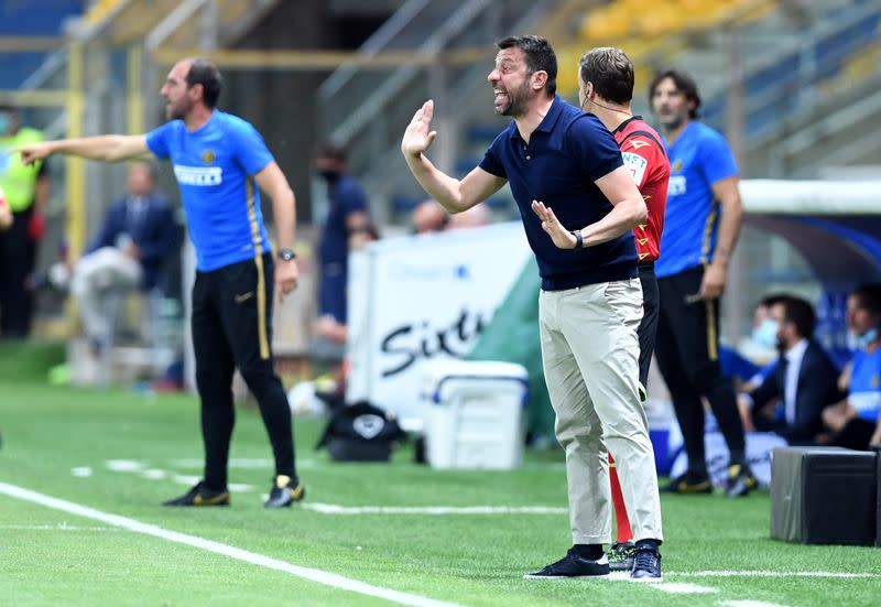 Parma sack coach D'Aversa after loss of 'mutual enthusiasm'