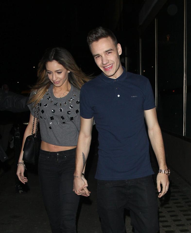 """<p>Liam and Danielle first met when <a href=""""http://www.youtube.com/watch?v=E7wq8W0wh-M"""" target=""""_blank"""" style=""""background-color: rgb(255, 255, 255);"""" class=""""ga-track"""" data-ga-category=""""internal click"""" data-ga-label=""""http://www.youtube.com/watch?v=E7wq8W0wh-M"""" data-ga-action=""""body text link"""">she was a backup dancer</a> on <strong>The X Factor</strong> in 2010. (Danielle is a classically trained dancer whose <a href=""""http://www.daniellepeazer.com/danielle-peazer/"""" target=""""_blank"""" style=""""background-color: rgb(255, 255, 255);"""" class=""""ga-track"""" data-ga-category=""""internal click"""" data-ga-label=""""http://www.daniellepeazer.com/danielle-peazer/"""" data-ga-action=""""body text link"""">credits also include shows for Katy Perry and Jessie J</a>.) After two years of dating, the couple split in September 2012 <a href=""""http://www.mirror.co.uk/3am/celebrity-news/liam-payne-and-danielle-peazer-split-1344200"""" target=""""_blank"""" style=""""background-color: rgb(255, 255, 255);"""" class=""""ga-track"""" data-ga-category=""""internal click"""" data-ga-label=""""http://www.mirror.co.uk/3am/celebrity-news/liam-payne-and-danielle-peazer-split-1344200"""" data-ga-action=""""body text link"""">due to Liam's grueling touring schedule with 1D</a>, an alleged friend of Liam's told <strong>The Mirror</strong>.</p>"""