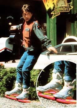 'Back to the Future' Shoes Cause Web Frenzy