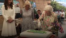 英國女王蛋糕這樣切!G7領袖站超遠