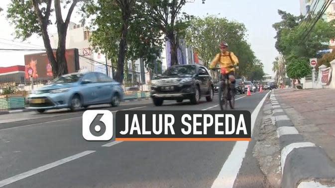 VIDEO: Hari ke-5, Pelanggar Jalur Sepeda Berkurang