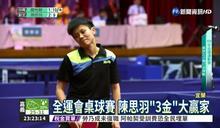全運會桌球決賽 莊智淵4連霸