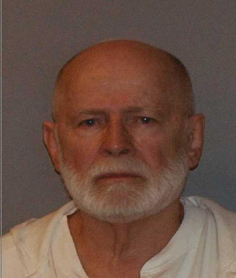 """Former mob boss and fugitive James """"Whitey"""" Bulger, who was arrested in Santa Monica, California on June 22, 2011 along with his longtime girlfriend Catherine Greig, is seen in a booking mug photo released to Reuters on August 1, 2011. Bulger fled Boston in late 1994 after receiving a tip from a corrupt FBI agent that federal charges were pending. Greig joined him a short time later and has been charged with harboring Bulger as a fugitive. REUTERS/U.S. Marshals Service/U.S. Department of Justice/Handout (UNITED STATES - Tags: CRIME LAW HEADSHOT) FOR EDITORIAL USE ONLY. NOT FOR SALE FOR MARKETING OR ADVERTISING CAMPAIGNS. THIS IMAGE HAS BEEN SUPPLIED BY A THIRD PARTY. IT IS DISTRIBUTED, EXACTLY AS RECEIVED BY REUTERS, AS A SERVICE TO CLIENTS"""