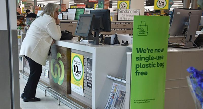 Woolworths also cites accurate weighing or 'taring' concerns as a reason for rejecting reusable plastic containers from the deli section.