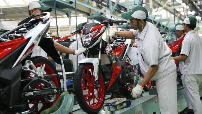 Belasan ribu motor Honda produksi Indonesia laku di negeri orang