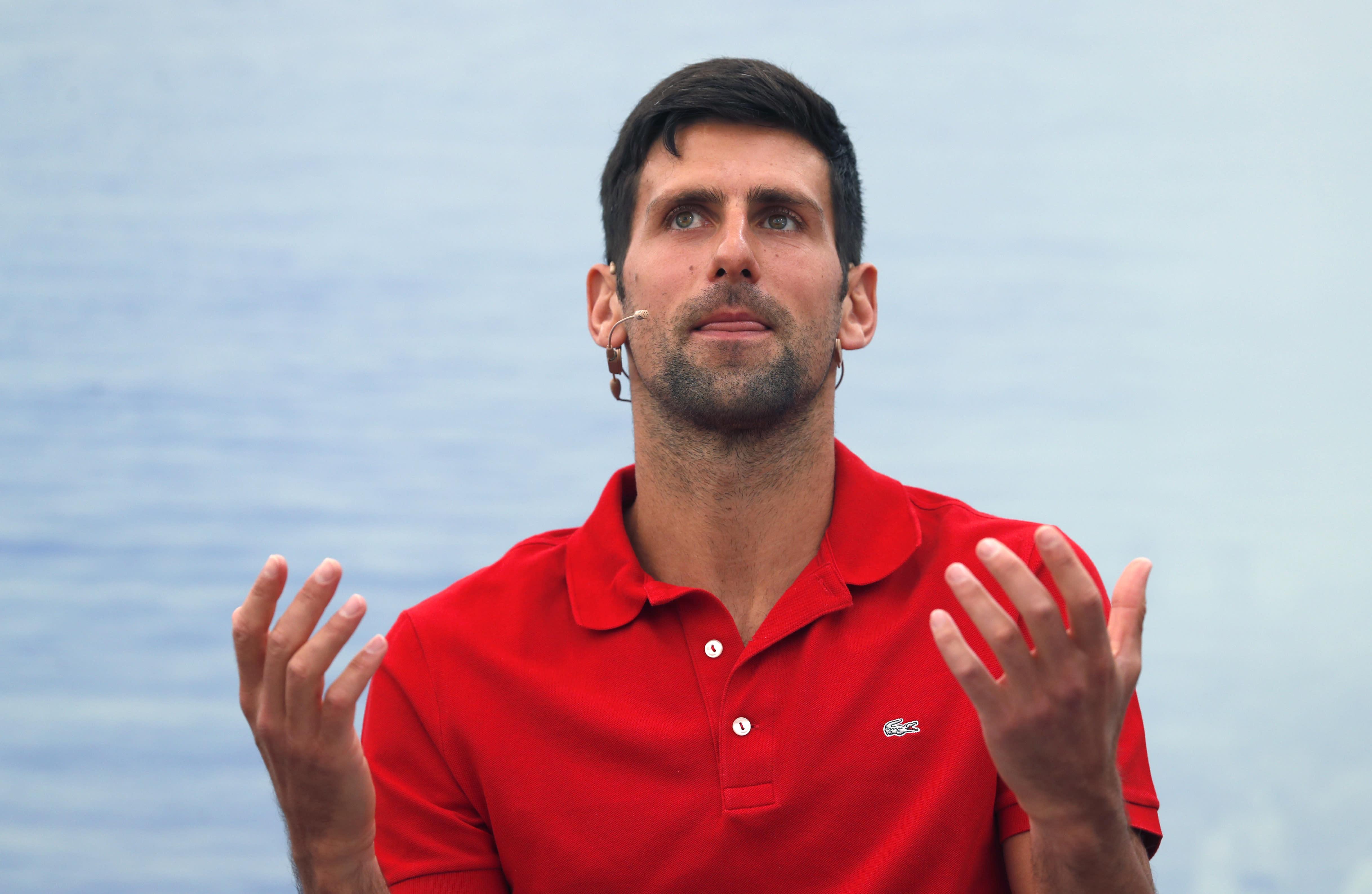 【運動專欄/費恩斯】Novak Djokovic表演賽確診 道歉無法挽回遺憾