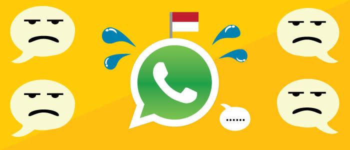 WhatsApp tidak akan sukses di Indonesia head