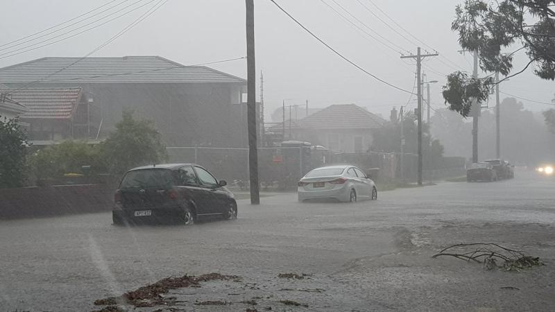 Rain NSW